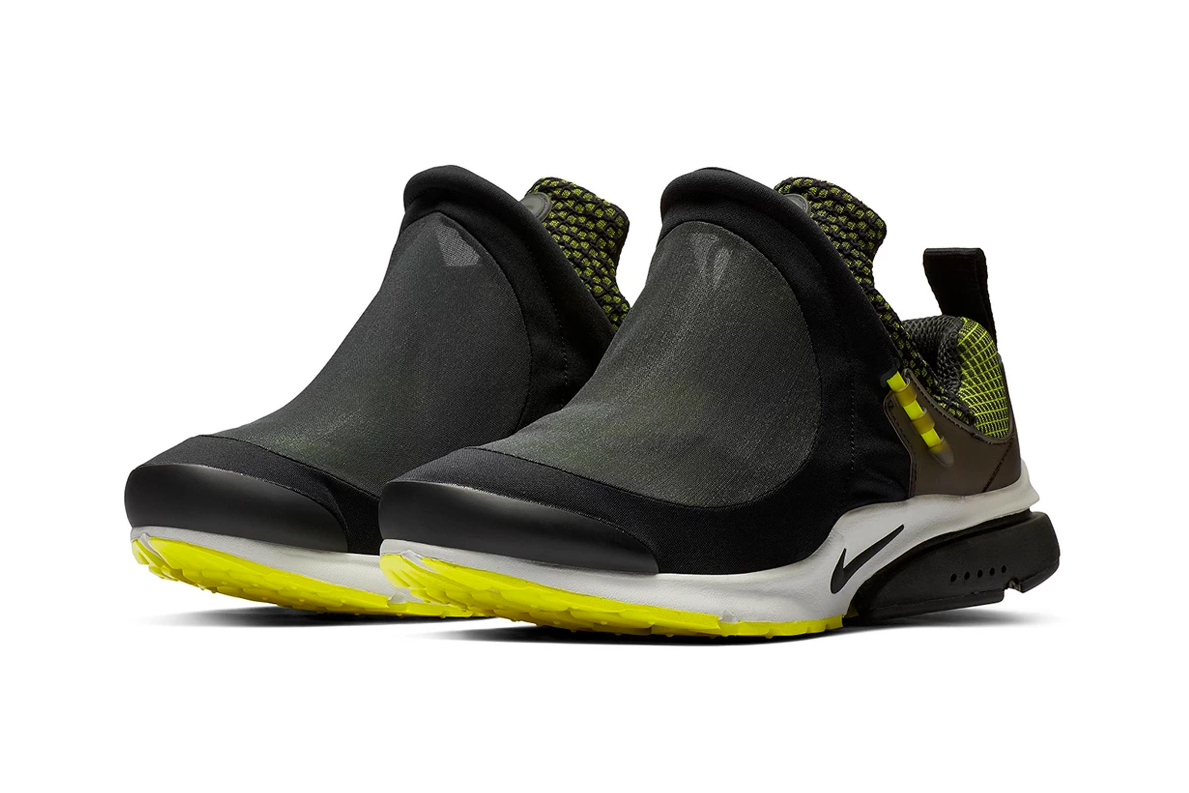 sports shoes 719ea 26ac1 The Comme des Garçons Homme Plus x Nike Air Presto Foot Tent Drops January  12