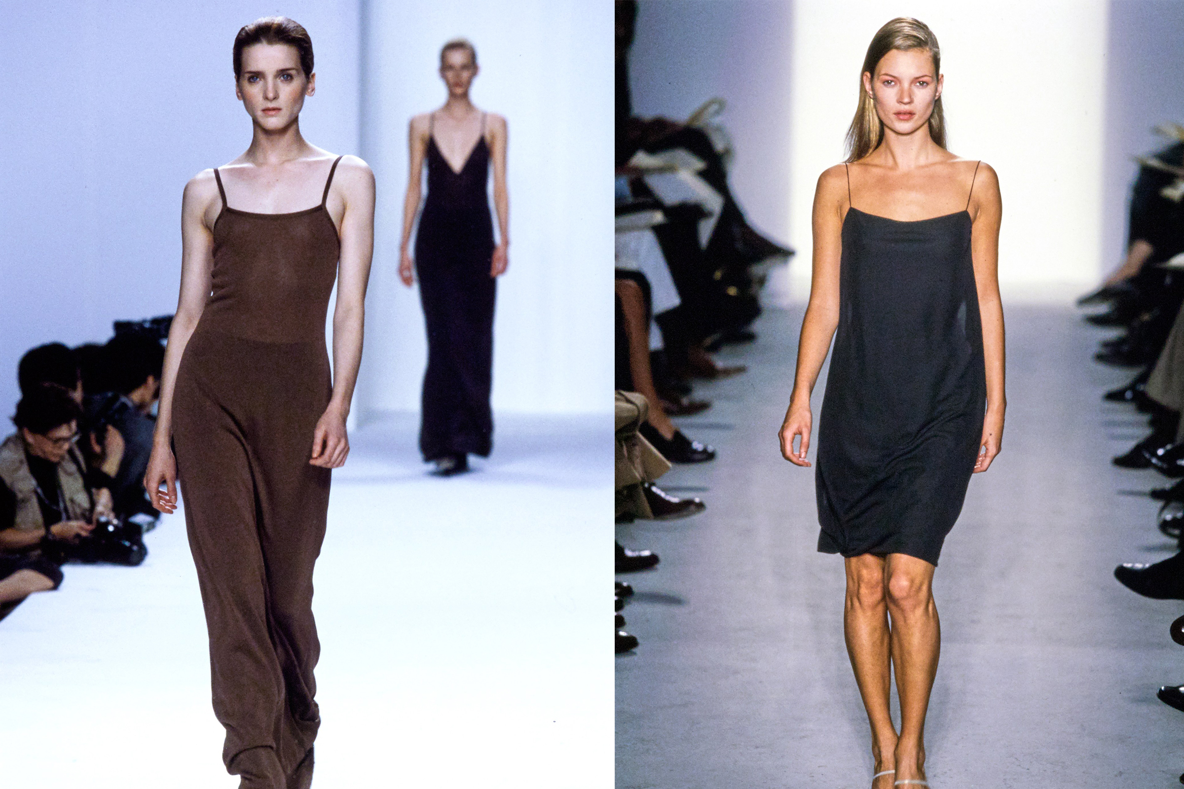 How Calvin Klein S Slip Dresses Came To Define 90s Fashion Heroine