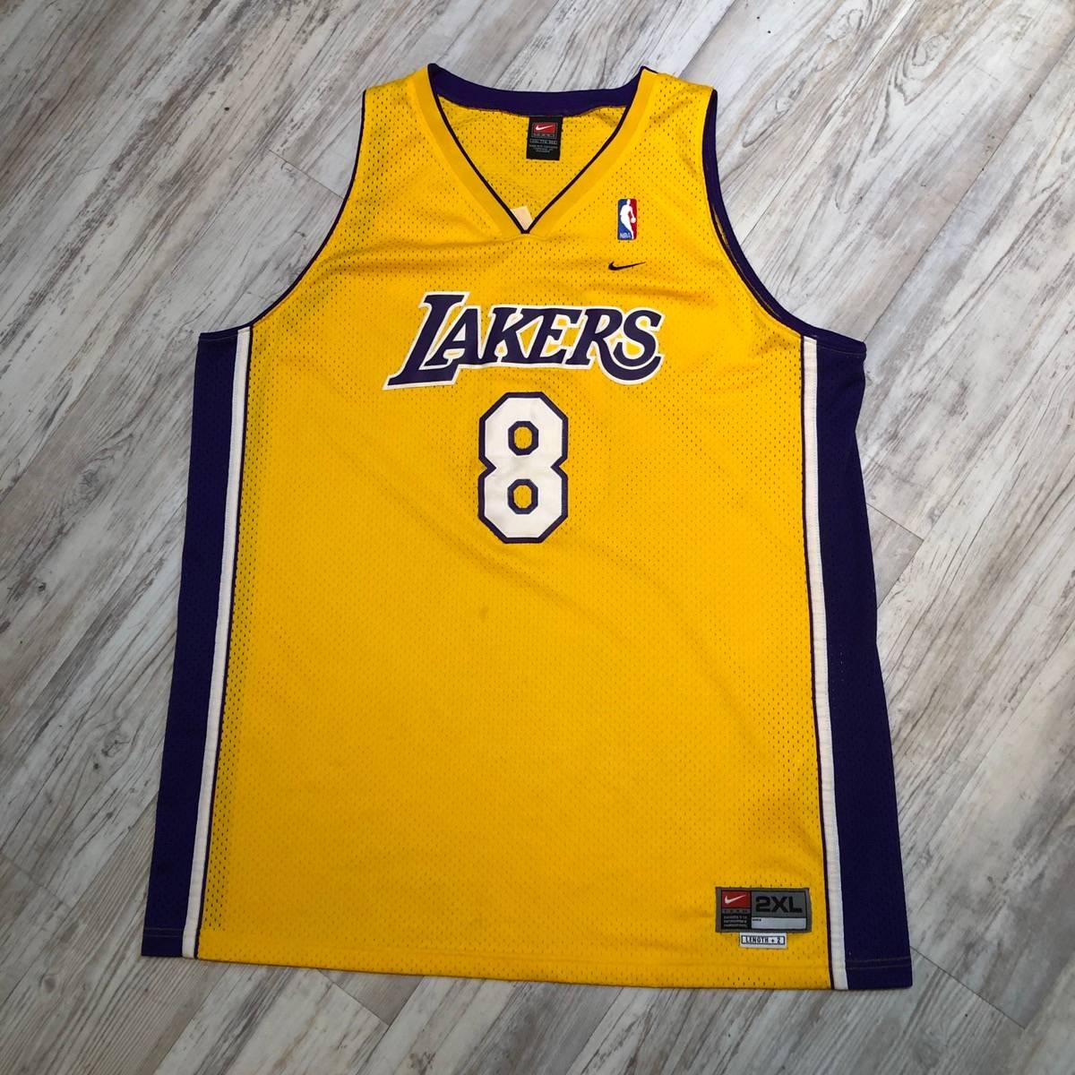 Nike Vintage NIKE Los Angeles Lakers #8 KOBE BRYANT Jersey XXL