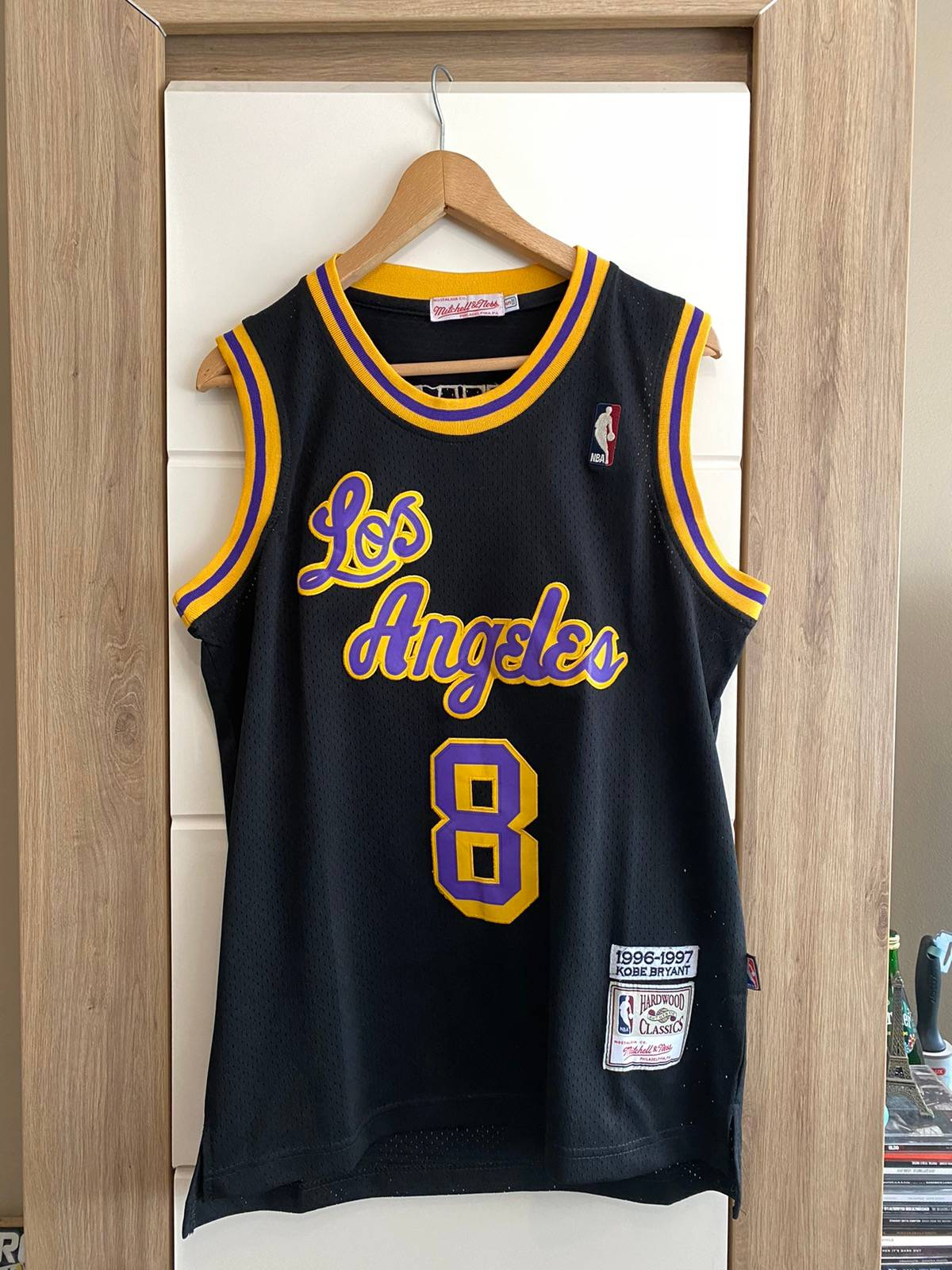 Mitchell & Ness kobe bryant 1996-97 authentic jersey los angeles lakers