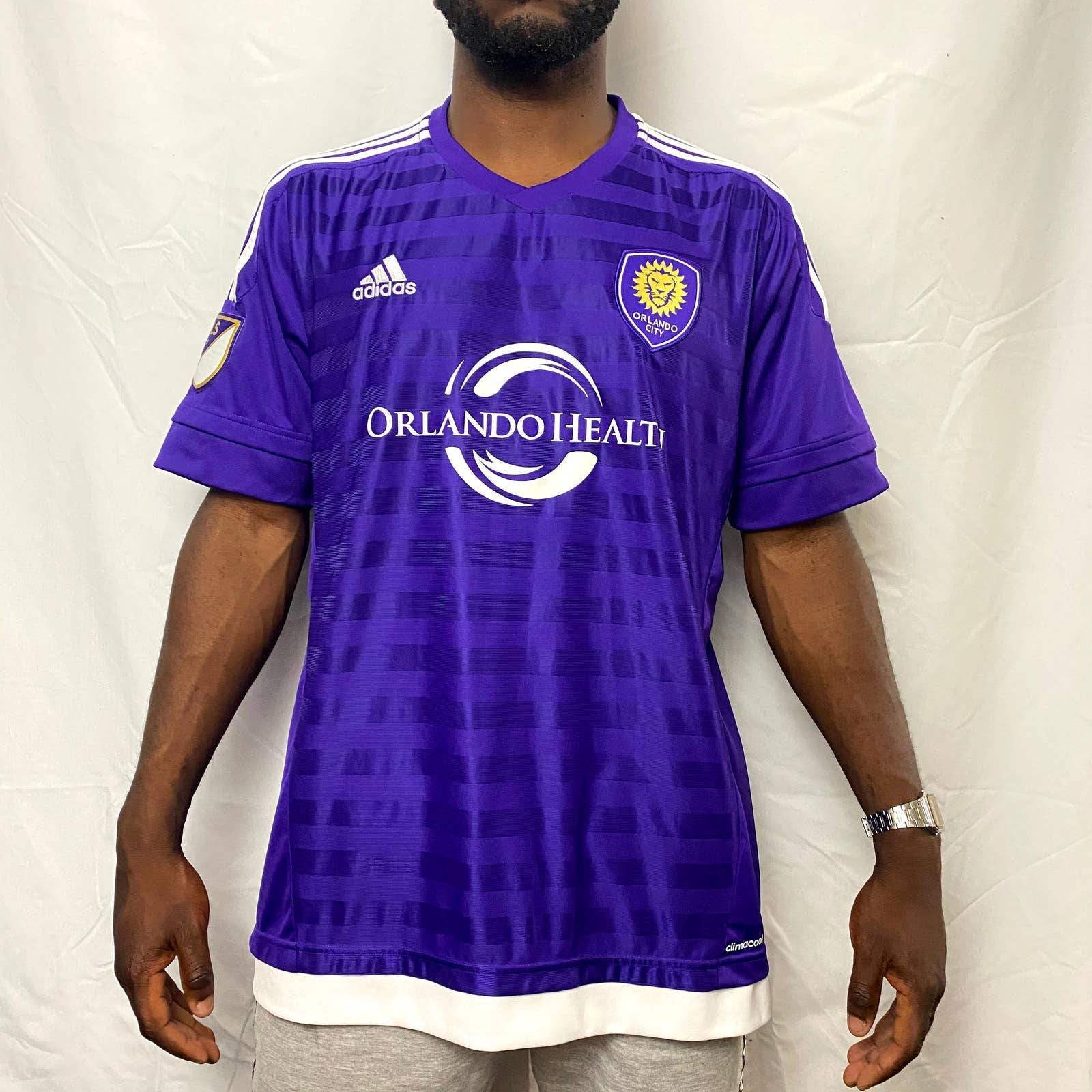 Adidas NWT adidas Orlando City Soccer Jersey xl