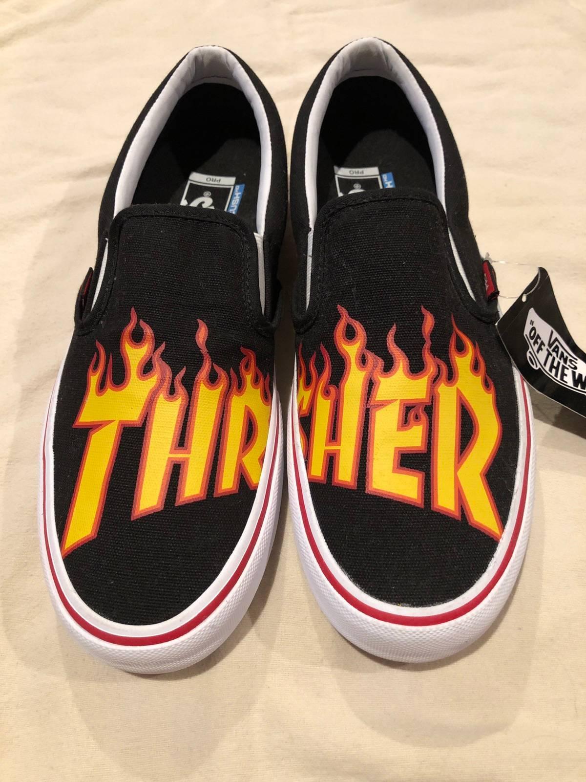 Vans Thrasher Flame Vans