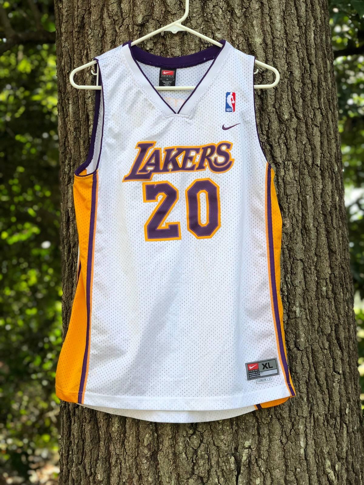 Nike Gary Payton Lakers Basketball Jersey