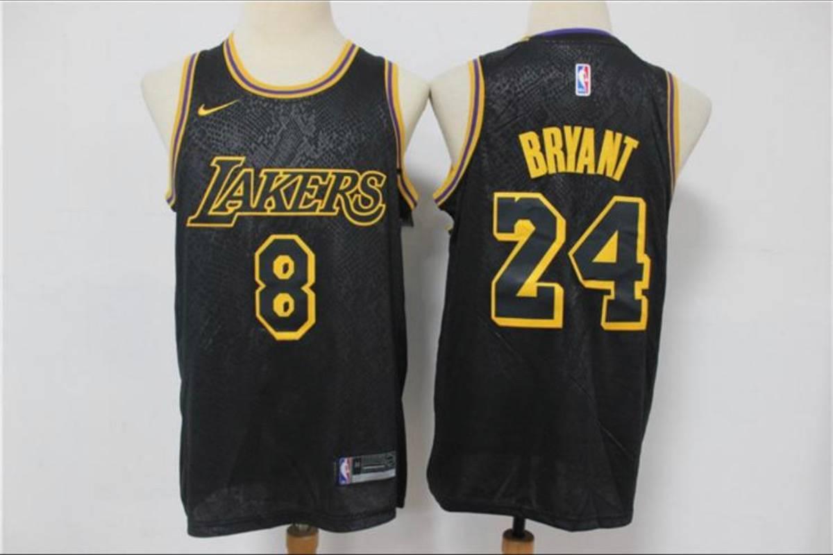 Nike Kobe Bryant Nike Black Mamba Day Jersey 8 / 24