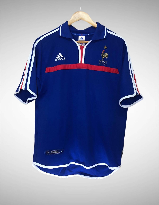 Adidas Vintage World Cup Adidas France Jersey