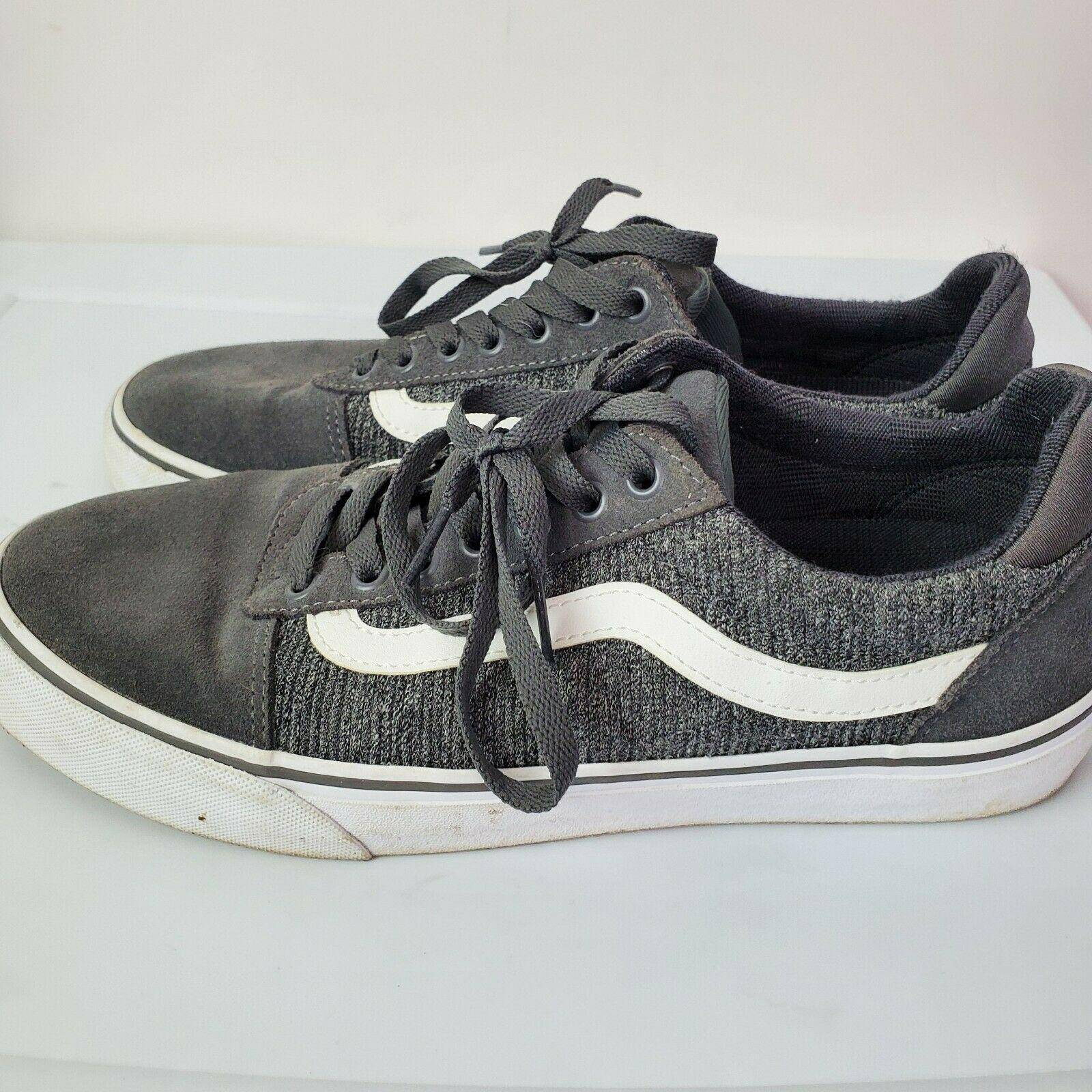Vans Vans Ortholite Deluxe Comfort Gray Skate Shoes