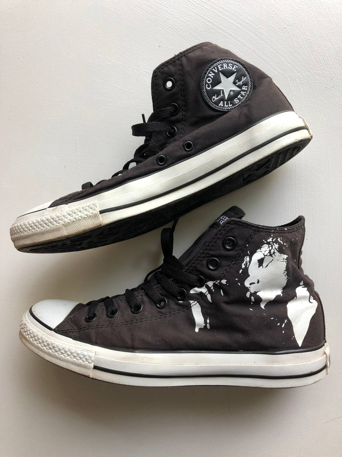 Vintage Converse x the doors limited edition chuck Taylor sneakers