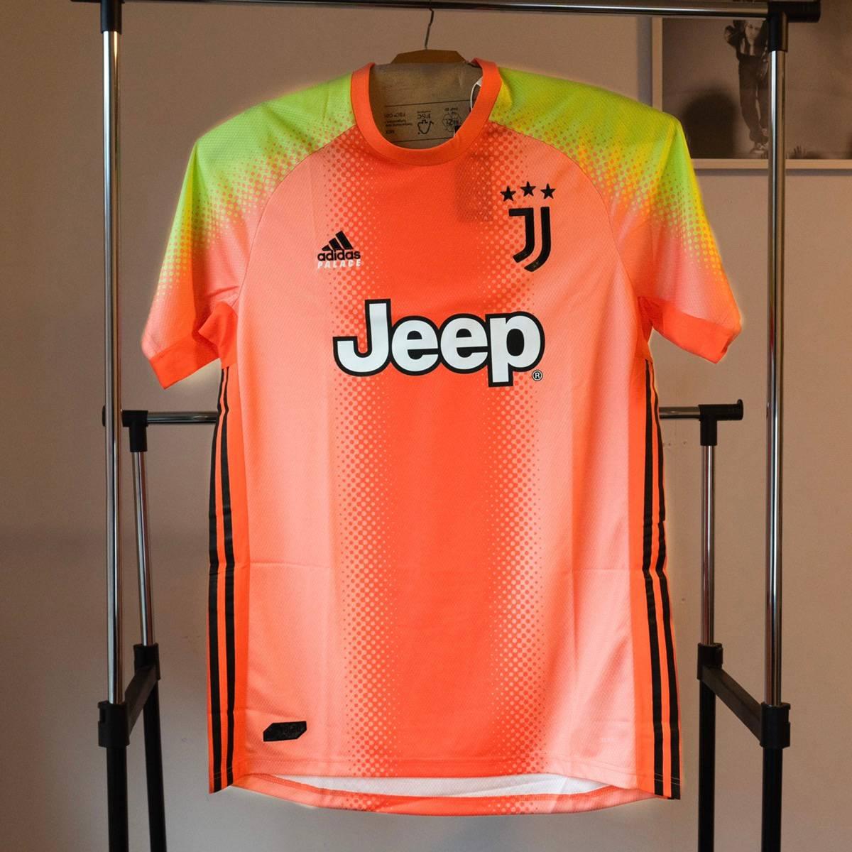 Adidas Palace Adidas Juventus Fourth Goalkeeper Jersey Orange/Slime