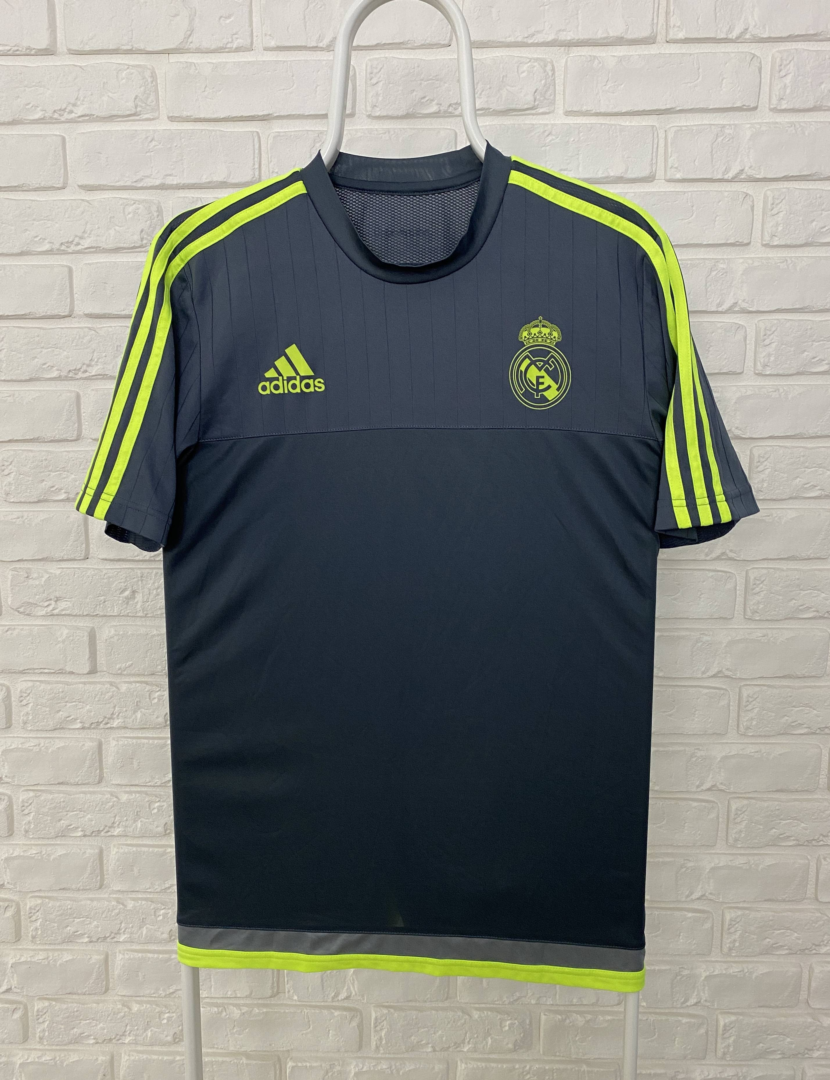 Adidas Real Madrid 2015 2016 Adidas Training Shirt Jersey Size M
