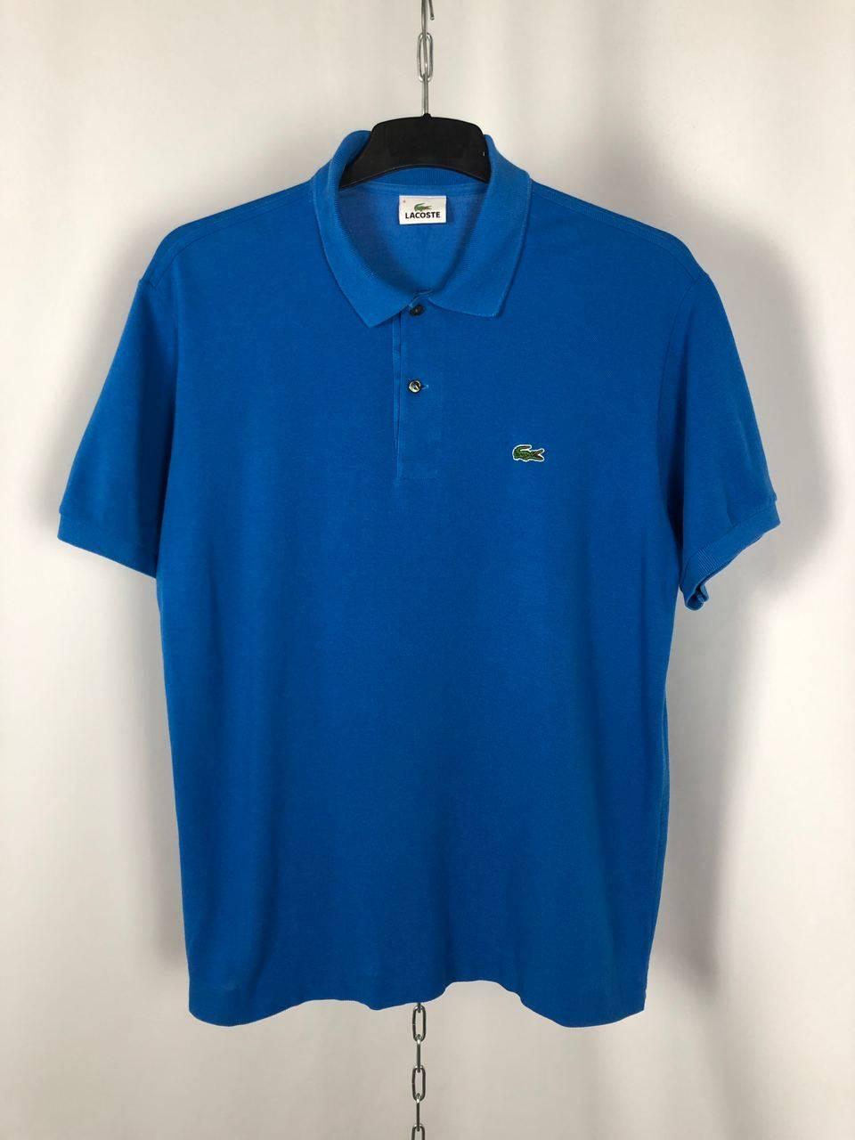 Vintage Men's Lacoste polo t-shirts blue size XL 6