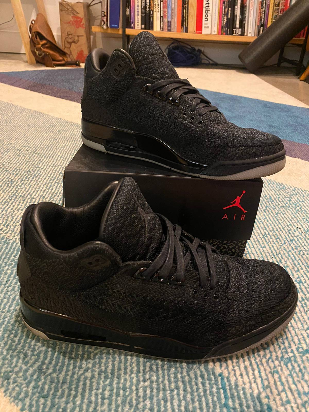 Nike Air Jordan 3 Retro Flyknit Black 2018