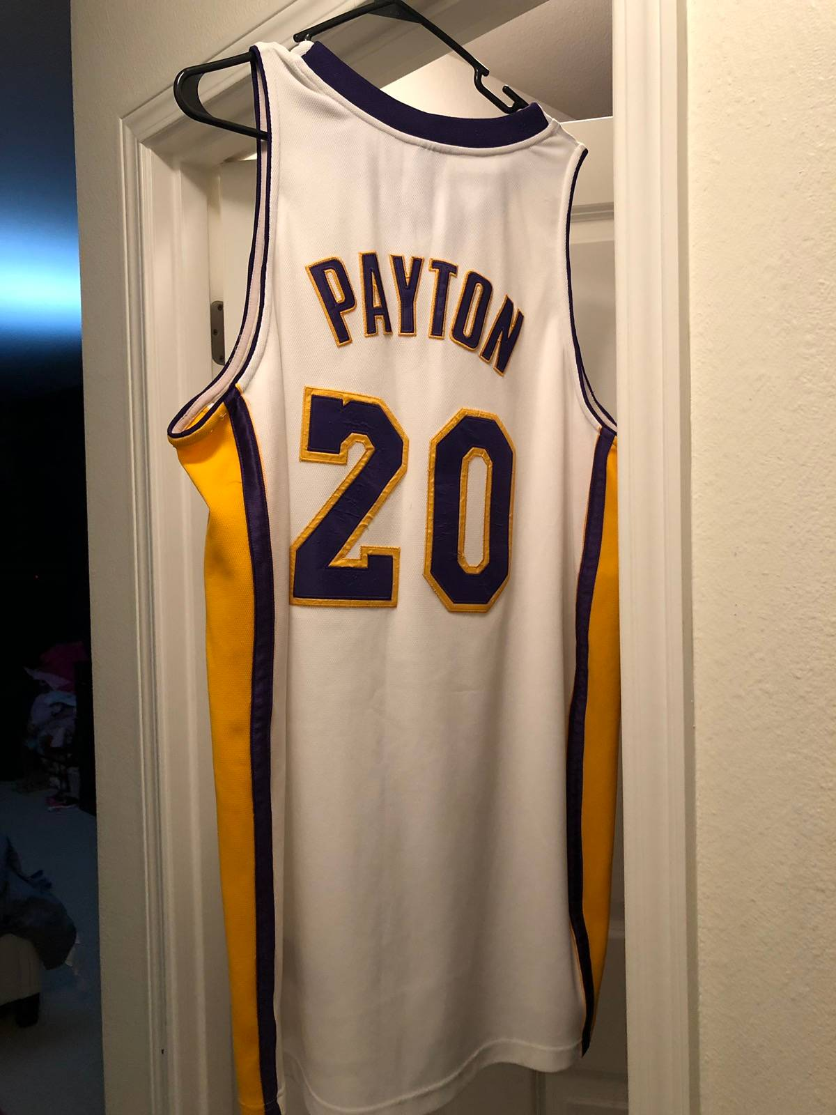 Nike Lakers jersey Gary Payton