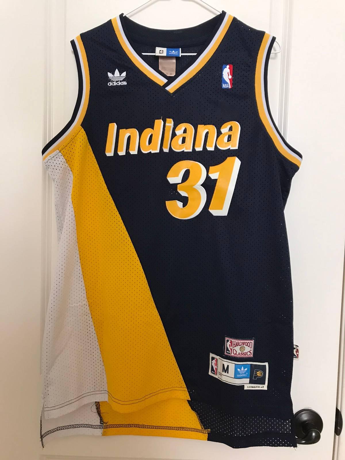 Adidas Adidas x NBA Hardwood Classics Reggie Miller Jersey