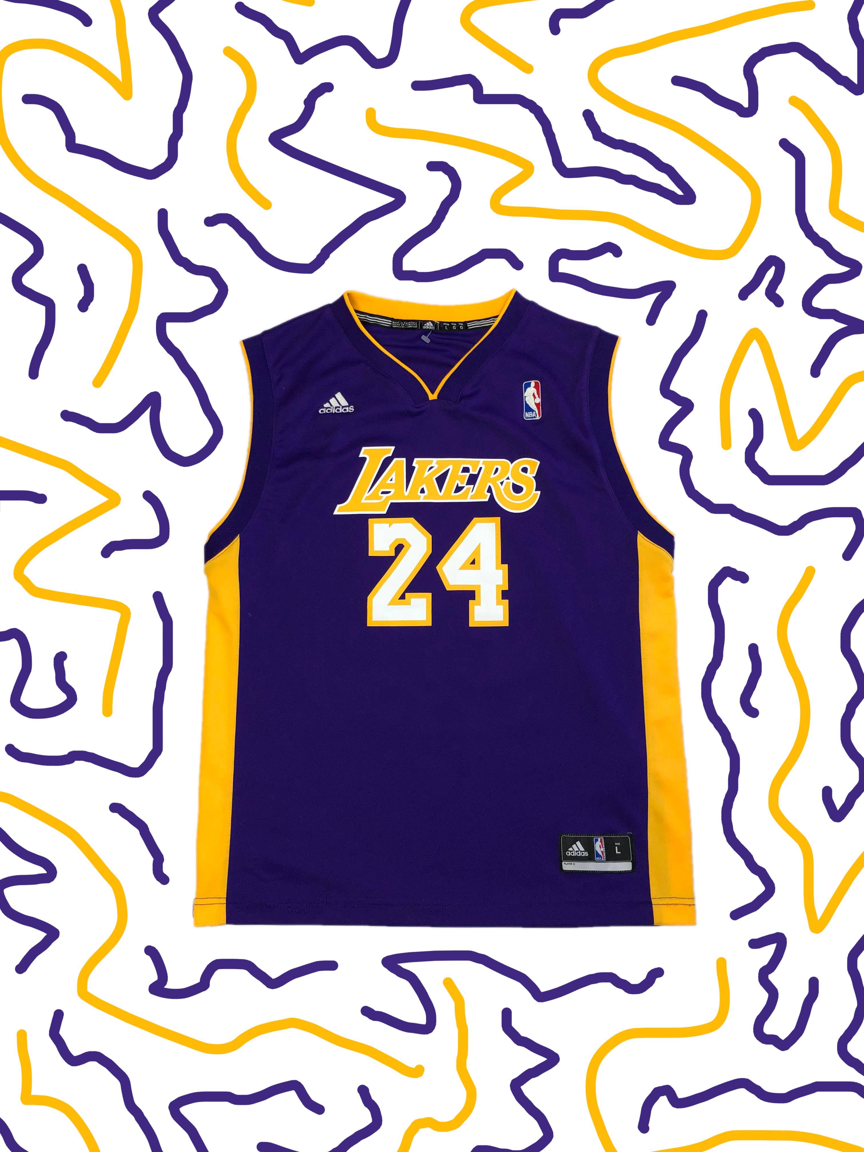 Adidas Kobe Bryant Jersey Los Angeles Lakers Adidas Jersey NBA #24