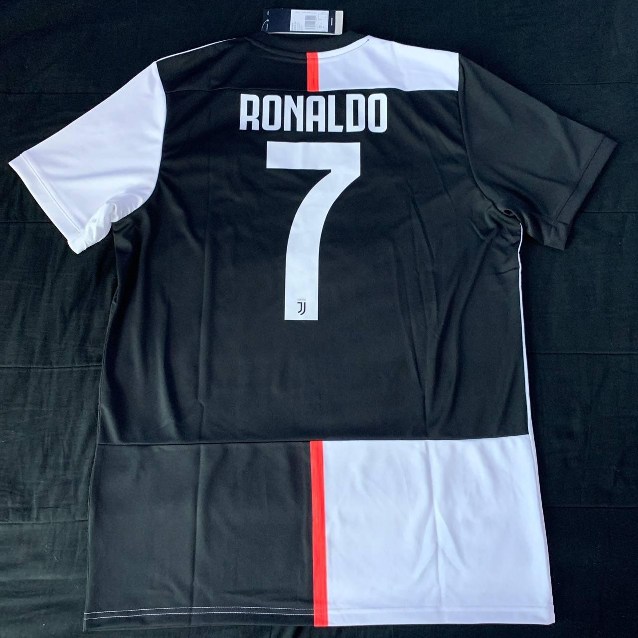 Adidas Juventus Ronaldo 7 2019-2020 Home Jersey