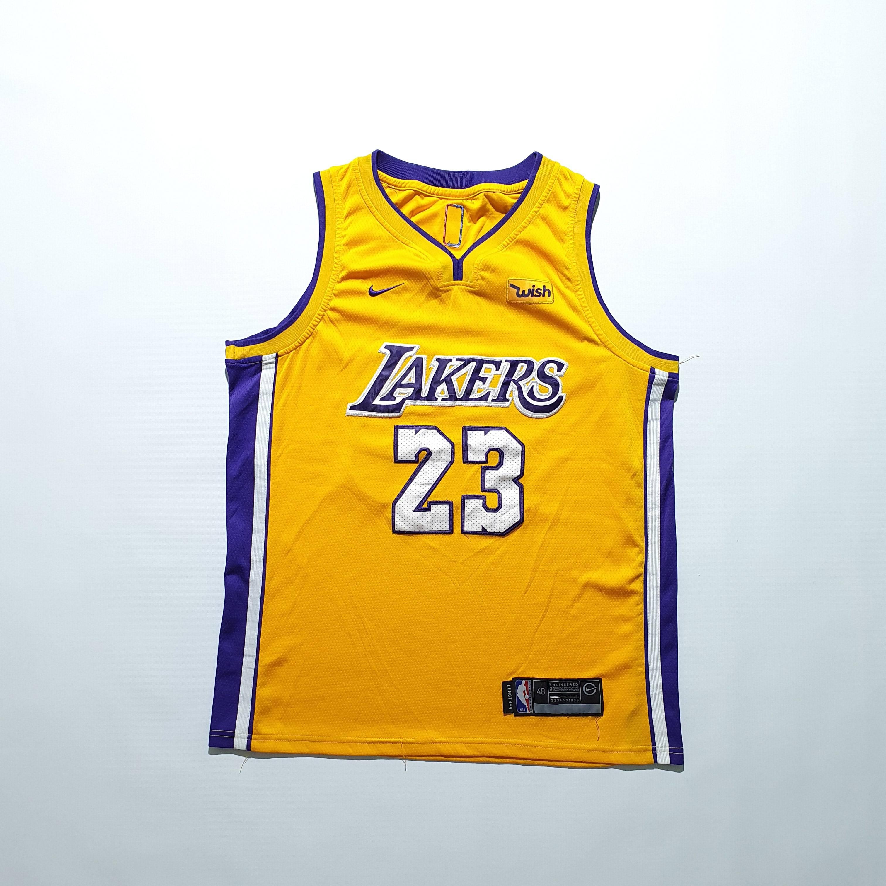 Nike Nike Lakers Lebron James 23 Jersey Tshirt