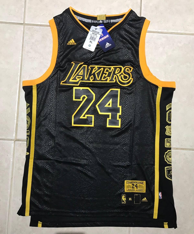 Adidas Kobe bryant lakers commemorative jersey