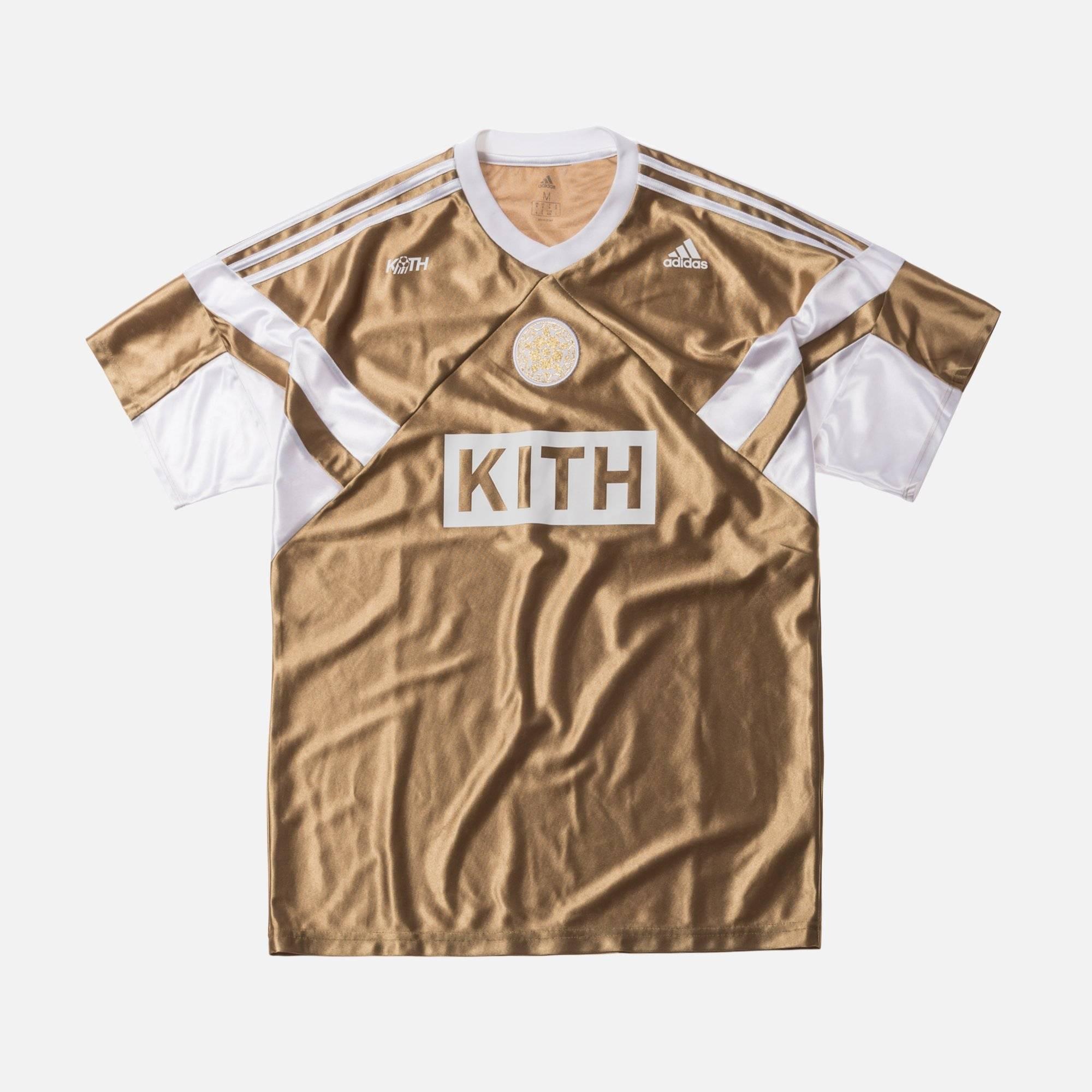Adidas Gold Soccer Jersey