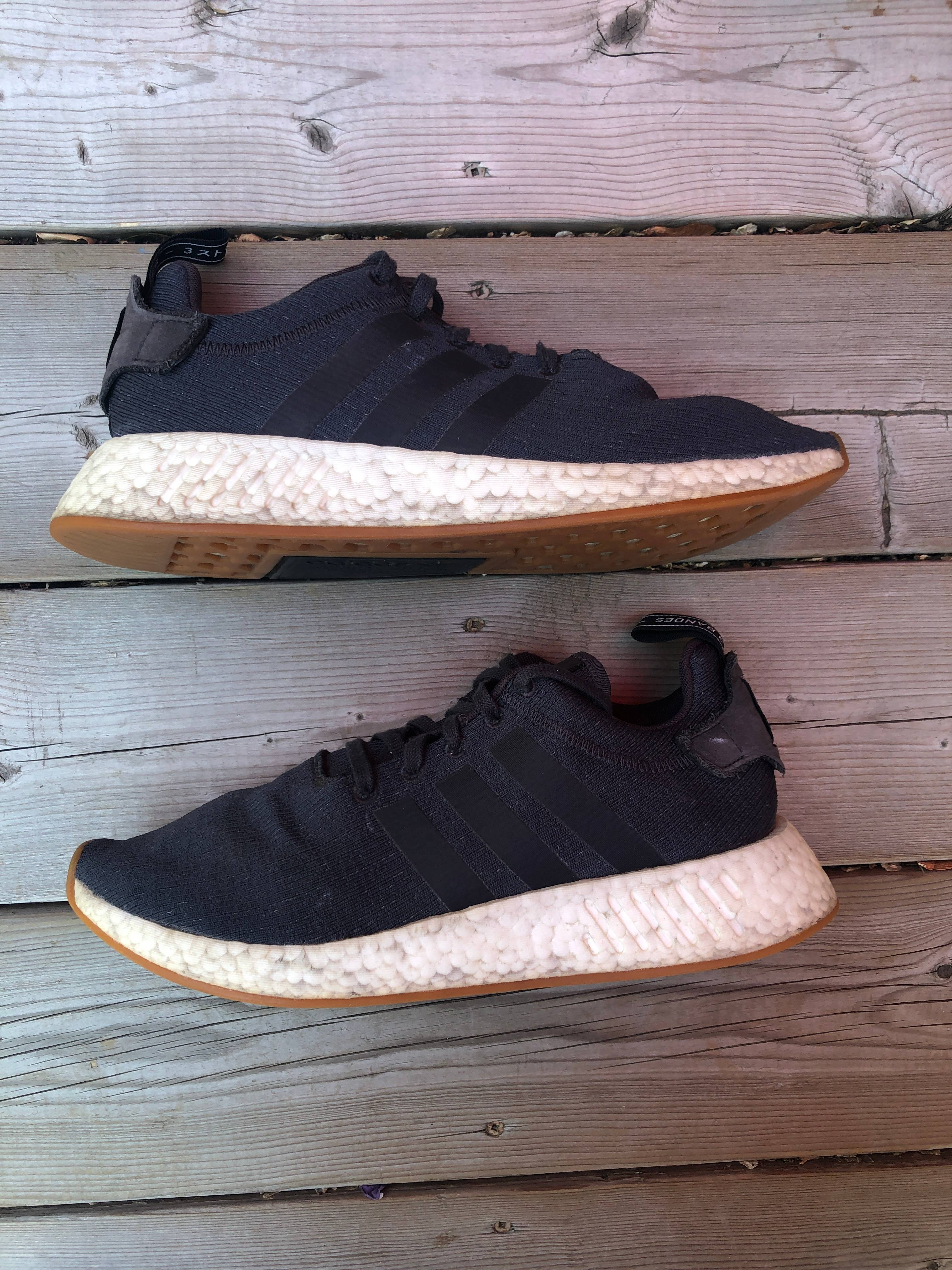 Adidas RARE adidas NMD R2 Grey Five Core Black Size 10