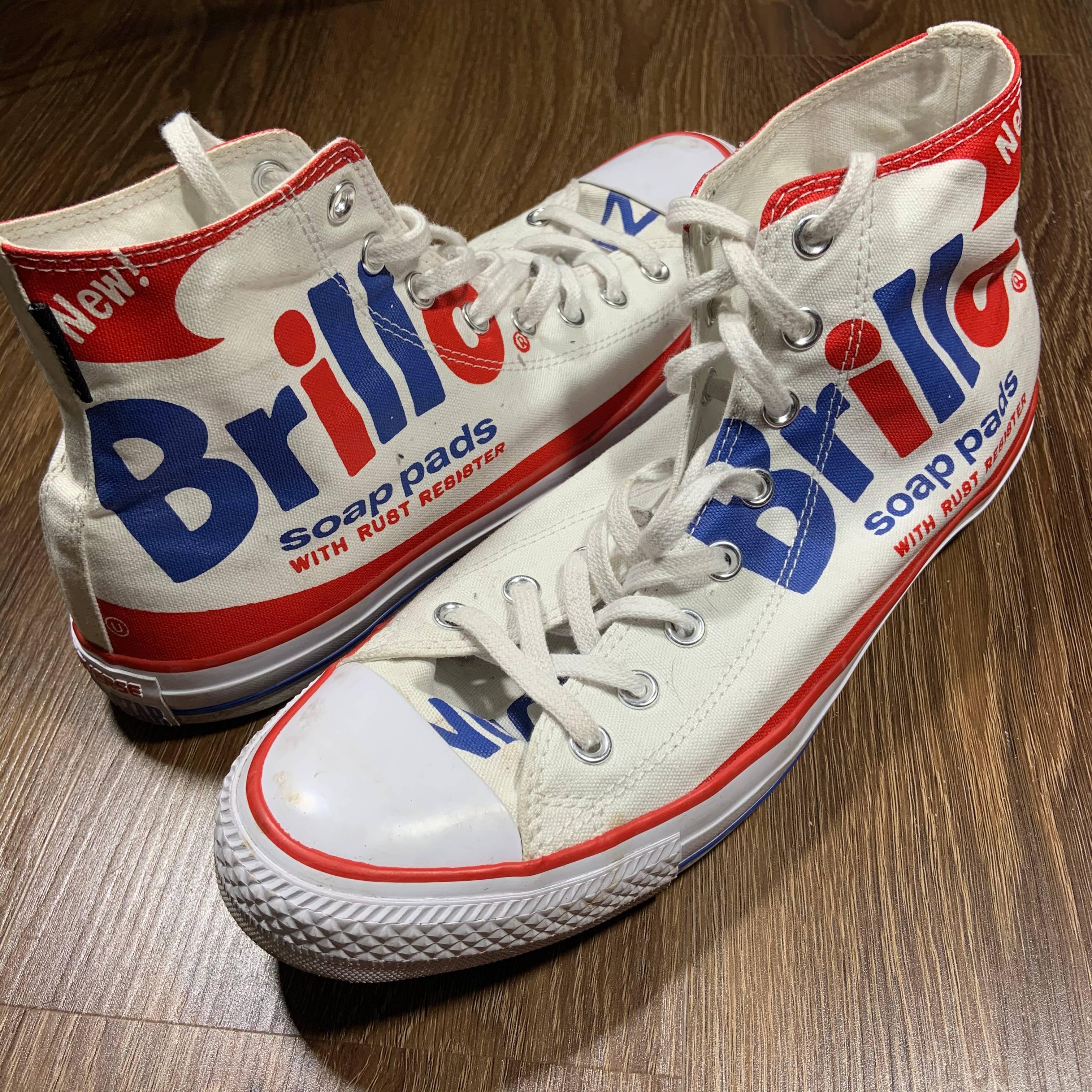 Converse Converse All Star Andy Warhol Brillo Print High Top