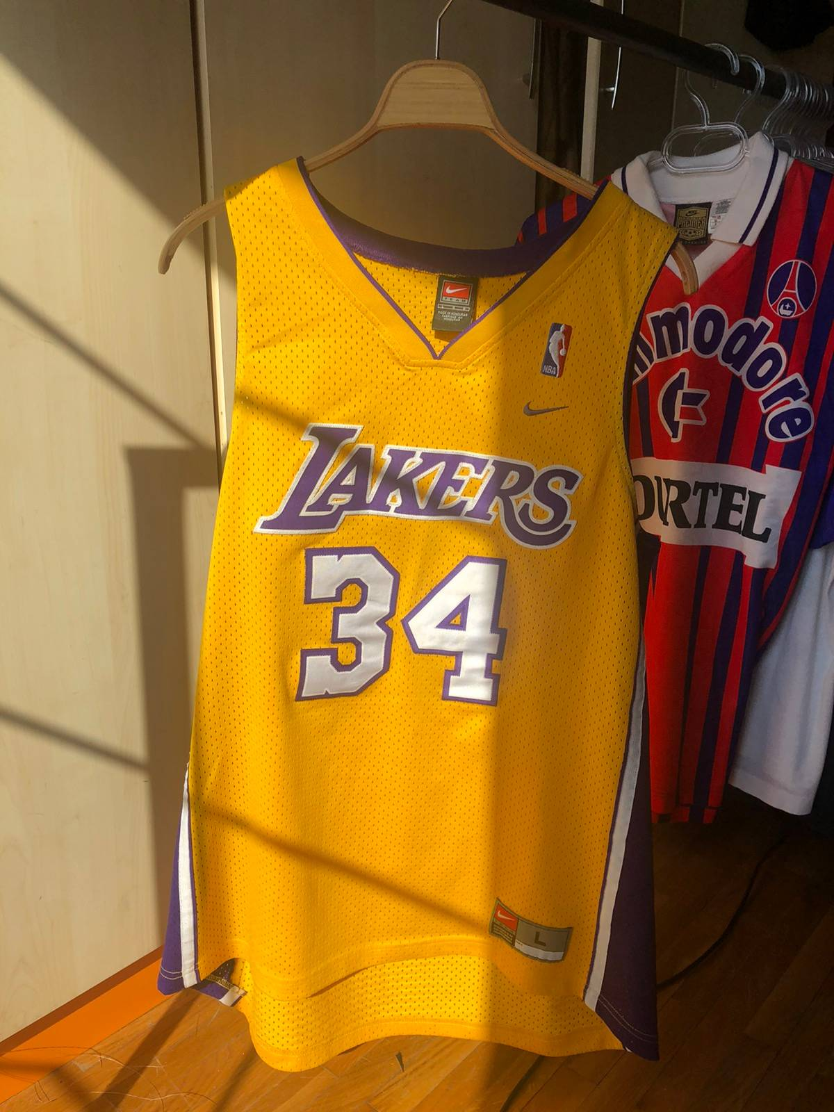 Vintage Vintage Nike Shaquille O'Neal LA Lakers #34 nba Jersey