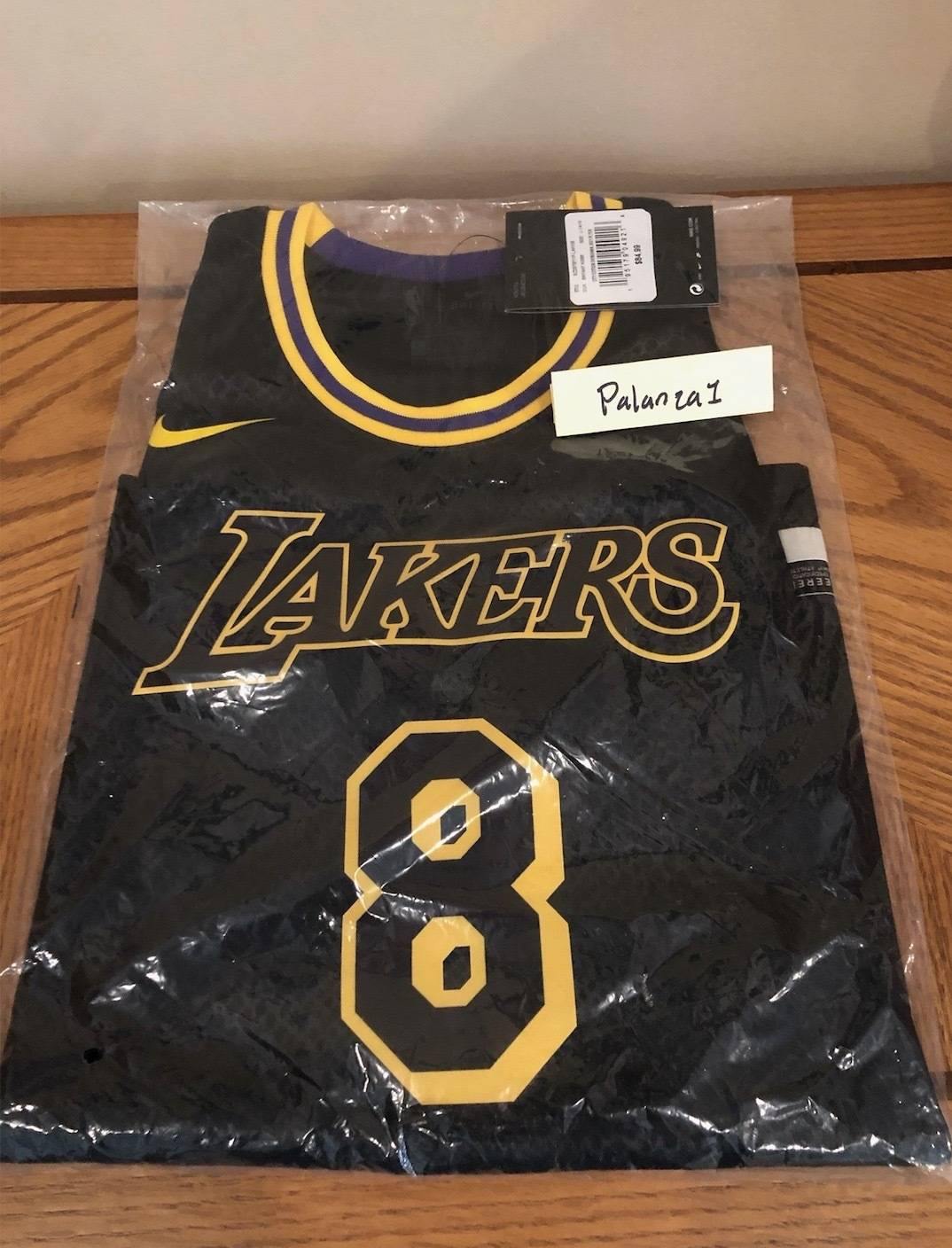 Nike Los Angeles Lakers Kobe Bryant Youth L City Edition Jersey