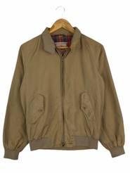 Vintage BARACUTA British Fashion Brand  Women\u2019s Bombers Jacket Made In England Zipper Up Size 38
