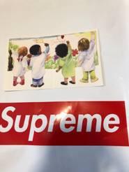 SUPREME I Love Satan Sticker Heart Kids Box Logo SS19
