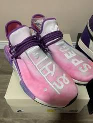 Adidas Adidas Nmd Human Race Holi Pink Glow Bbc Sun Glow Pale