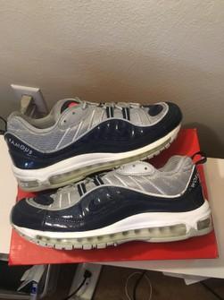 Supreme Supreme Nike Air Max 98 Obsidian Shoes Grailed