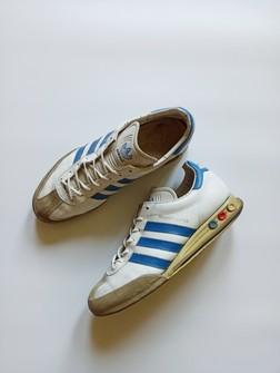 Significado sangrado Prevención  Adidas Adidas Kegler Super Us 9 Vintage 80s White Leather Germany   Grailed