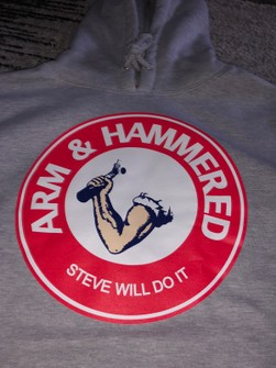 Full Send By Nelk Boys Steve Will Do It Full Send Arm And Hammered Hoodie Grailed Customize a logo for your company easily with our free online logo maker. steve will do it full send arm and hammered hoodie