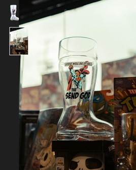 Full Send By Nelk Boys Steve Will Do It S Drinking Boot Grailed All videos go to their respective owners. steve will do it s drinking boot