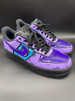 Nike Air Force 1 07 Black Cartoon Custom Grailed