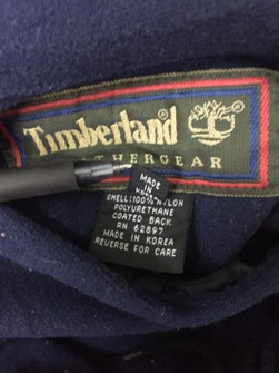 sticker timberland