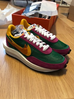 Personalmente Desgastar Humedad  Nike Nike Ld Waffle Sacai Pine Green Size | Grailed