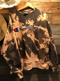 Bleached Champion Sweater