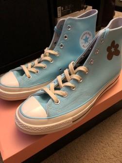 Converse Golf Le Fleur X Chuck 70 High Blue Vip Shoes Grailed
