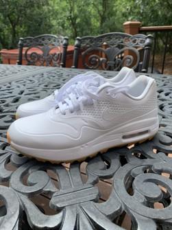 Nike Nike Air Max 1 Golf White Gum Grailed
