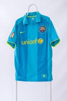 Pórtico variable llamada  Nike 2007 Mens Nike Barcelona Away Jersey Shirt Top Polo | Grailed
