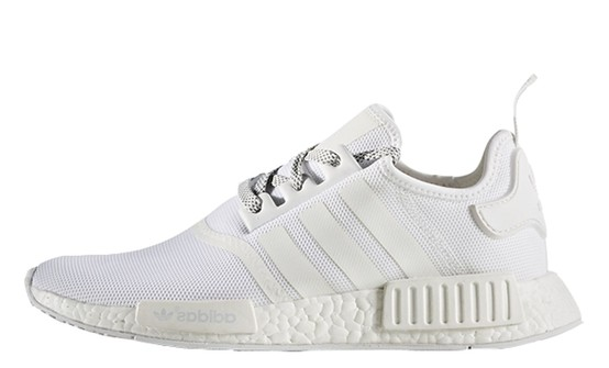 Adidas Nmd R1 White Reflective Grailed