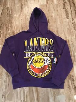 Nba Deadstock Vintage Lakers Championship Hoodie Grailed