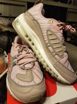 Nike Nike Air Max 98 Pink Pumice Summit White Men S Size 5 5