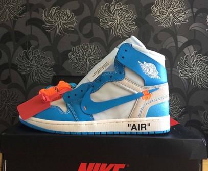 Bendecir Abstracción Inapropiado  Nike Nike Air Jordan 1 X Off-white Unc Blue | Grailed