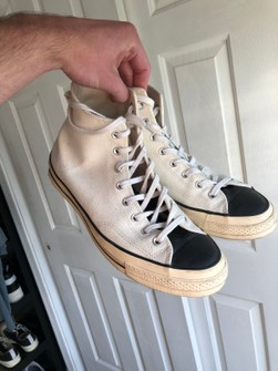 Fear Of God Fog Essentials Converse Cream Size 10