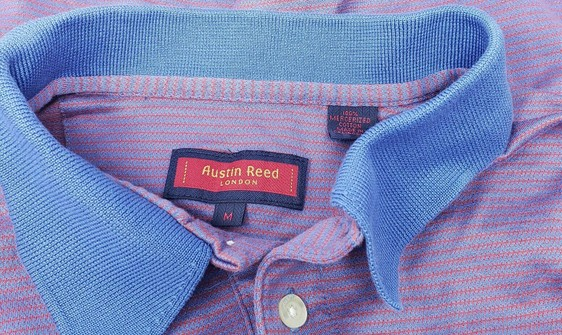Austin Reed Austin Reed London Polo Golf Shirt M Stripes Cotton Grailed