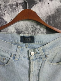 Versace Final Price Gianni Versace Jean S Couture Denim Jeans Pants Grailed