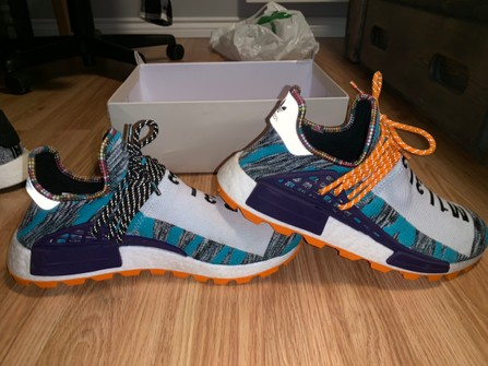 Adidas Adidas Human Race Nmd Solar Pack Orange Grailed