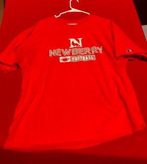 Champion NCAA Mens NCAA Mens Short Sleeve Football Season Jersey Tee