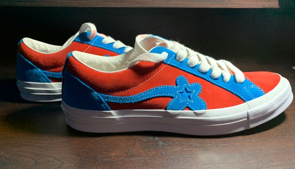 Converse Golf Le Fleur X Converse Red And Blue Grailed